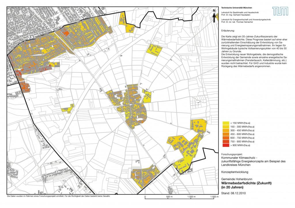 Karte 2   Wärmebedarf Hohenbrunn 2020